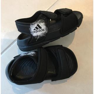 アディダス(adidas)のアディダス ベビー サンダル キッズ 12 12.5(サンダル)