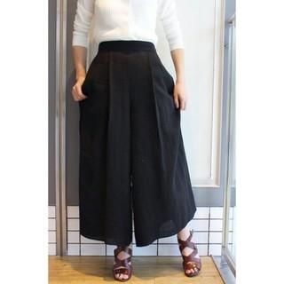 IENA - 超美品IENA×Naoko Tsuji リネンパナマ パンツ38
