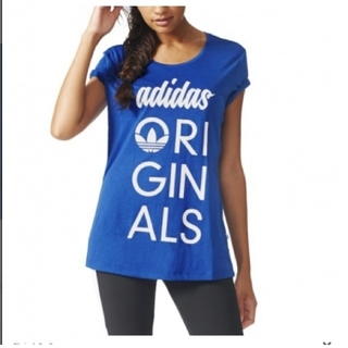 オリジナル(Original)のadidas originals レディース Tシャツ(Tシャツ(半袖/袖なし))