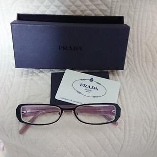 プラダ(PRADA)のPRADA メガネ Italy製(サングラス/メガネ)