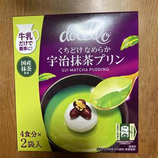 ネスレ(Nestle)のネスレ ドルチェロ宇治抹茶プリン 4食分✖2袋入り(菓子/デザート)