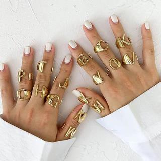 ザラ(ZARA)のアルファベットリング(リング(指輪))