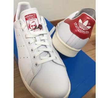 アディダス(adidas)の【新品】adidas スタンスミス ローズ(レッド:27㎝)(スニーカー)