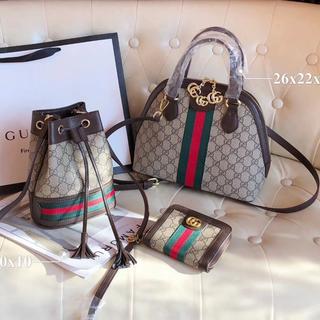 グッチ(Gucci)の手提げ袋クロスボディバッグ(トートバッグ)