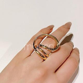 Ron Herman - unique  loop ring 《gold》