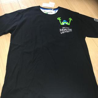 ディズニー(Disney)の新品タグ付 モンスターズユニバーシティTシャツ  5Lサイズ ビッグサイズ(Tシャツ/カットソー(半袖/袖なし))