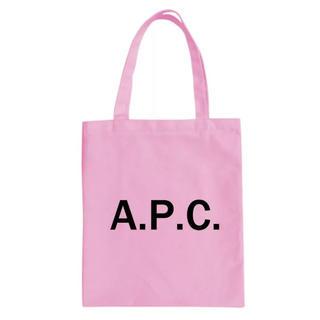 アーペーセー(A.P.C)のピンク A.P.C.  トートバック(トートバッグ)