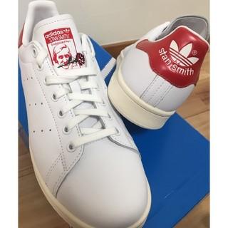アディダス(adidas)の【新品】adidas スタンスミス ローズ(レッド:26.5㎝)(スニーカー)