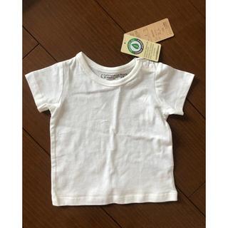 シマムラ(しまむら)のトップス Tシャツ 70 半袖 オーガニックコットン(シャツ/カットソー)