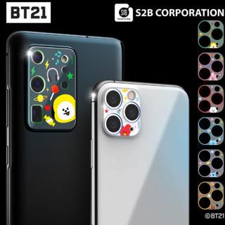 iPhone Galaxy カメラ保護 BT21 モバイルアクセサリー(保護フィルム)