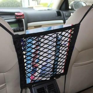 値引価格!車用収納ポケット 収納ポケット ネットポケット (座席の間収納(車内アクセサリ)