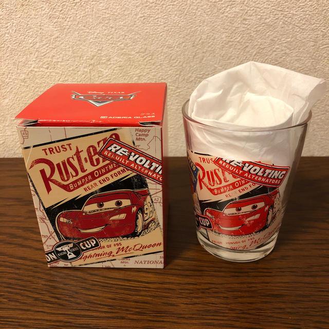 Disney(ディズニー)のカーズ グラス インテリア/住まい/日用品のキッチン/食器(グラス/カップ)の商品写真