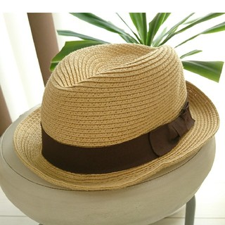 ジーユー(GU)のジーユー 麦わら帽子 ストローハット(帽子)