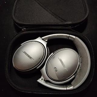 ボーズ(BOSE)のbose quietcomfort 35 ii silver(ヘッドフォン/イヤフォン)