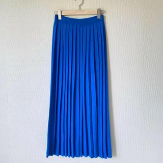 ENFOLD - ENFOLD ニットプリーツロングスカート