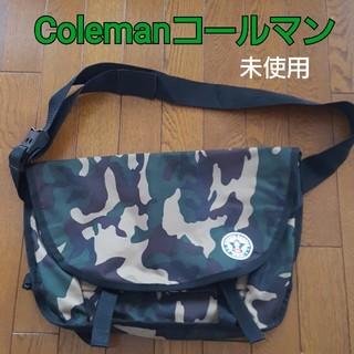 コールマン(Coleman)の未使用 Coleman 迷彩柄 ショルダーバッグ コールマン(ショルダーバッグ)
