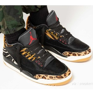 ナイキ(NIKE)のNIKE AIR JORDAN 3 RETRO SE ANIMAL 28cm(スニーカー)