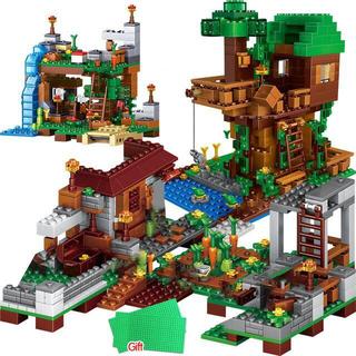 Lego - LEGO マインクラフト ツリーハウス 1208pcs 【互換品】