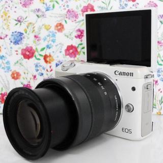 キヤノン(Canon)の【Wi-Fi搭載!】Canon EOS M3 Wi-Fi機能内蔵(ミラーレス一眼)