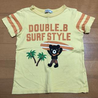 ダブルビー(DOUBLE.B)の100cm ミキハウス ダブルビー ビー君 サーフ 半袖 Tシャツ(Tシャツ/カットソー)
