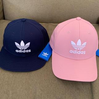 アディダス(adidas)のadidasアディダスキャップ帽子親子兄弟お揃いセット(帽子)