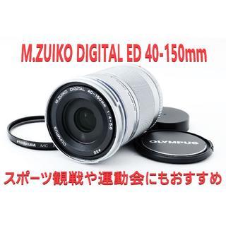 オリンパス(OLYMPUS)の❤美品❤OLYMPUS 望遠 M.ZUIKO 40-150(レンズ(ズーム))