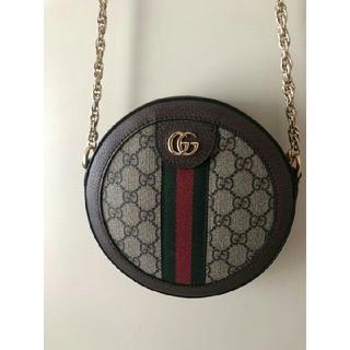 Gucci - GUCCI ミニラウンドショルダーバッグ