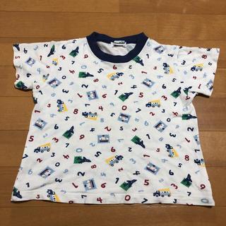 familiar - 110cm ファミリア 半袖 総柄 シャツ