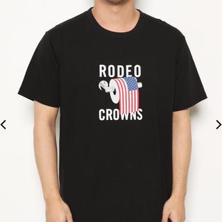 ロデオクラウンズ(RODEO CROWNS)のRCWB メンズ USA PAPER Tシャツ(Tシャツ/カットソー(半袖/袖なし))