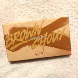 クリオ CLIO アイシャドウパレット 02 ブラウンシュー(アイシャドウ)