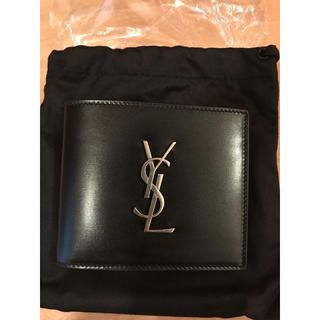 Saint Laurent - SAINT LAURENT  PARIS  サンローラン 二つ折り財布