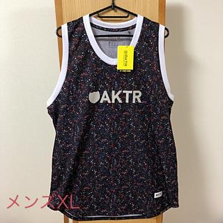未使用 AKTR アクター タンクトップ バスケットボール メンズ XL
