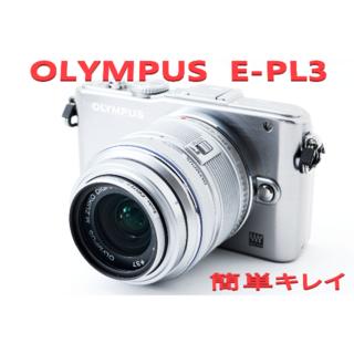 オリンパス(OLYMPUS)の❤4000円相当おまけ付き❤PEN E-PL3❤スマホに転送可愛いカメラ❤(デジタル一眼)