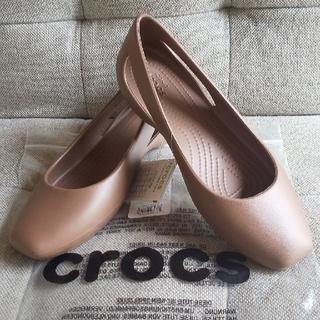 クロックス(crocs)のクロックス スローン フラット w7(バレエシューズ)