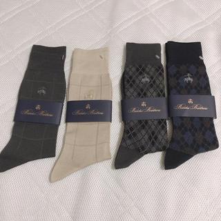 ブルックスブラザース(Brooks Brothers)のBrooks Brothers ブルックスブラザーズ 靴下4つセット(ソックス)
