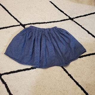 グローバルワーク(GLOBAL WORK)の【GLOBAL WORK】キッズLサイズ インナー付きスカート(スカート)
