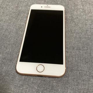 アップル(Apple)のPhone 8 ローズゴールド 256 GB SIMフリー(スマートフォン本体)