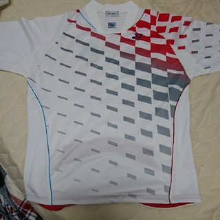 ヨネックス(YONEX)のゲームシャツ(兵庫・背面入り)(バドミントン)