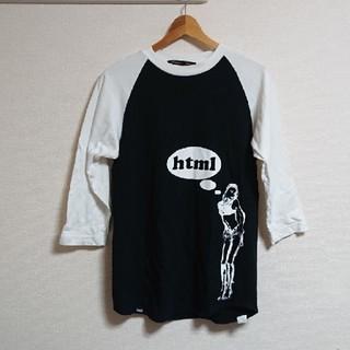 エイチティーエムエル(html)の七分袖 Tシャツ ラグラン html(Tシャツ/カットソー(七分/長袖))
