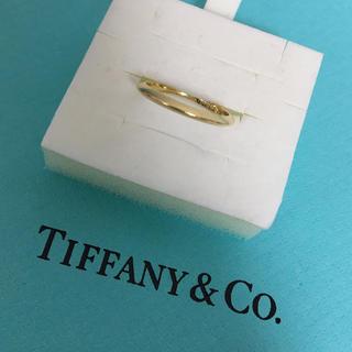 ティファニー(Tiffany & Co.)のティファニー ナイフエッジ バンドリング 7号 ゴールド(リング(指輪))