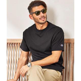 Champion - Tシャツ ブラック メンズ