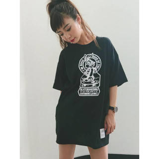 GYDA - GYDA bunnyTシャツ ジェイダ ワンピ