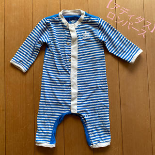 アディダス(adidas)のadidas 長袖ロンパース 男の子 70cm(ロンパース)