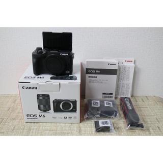 キヤノン(Canon)のCanon キャノンEOS M6 ボディ ブラック(ミラーレス一眼)
