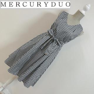 MERCURYDUO - マーキュリーデュオ ギンガムチェック柄ワンピース