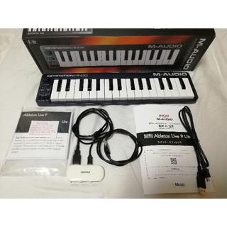 動作良好 Keystation mini 32 端子強化済 USBハブ、ソフト付(MIDIコントローラー)