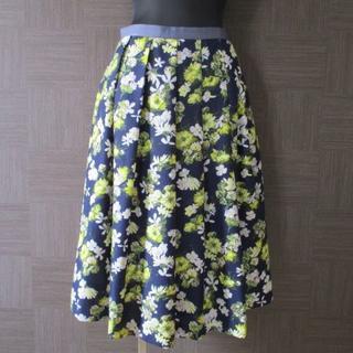 JILLSTUART - ジル・スチュアート JILL STUART 花柄スカート 2 美品