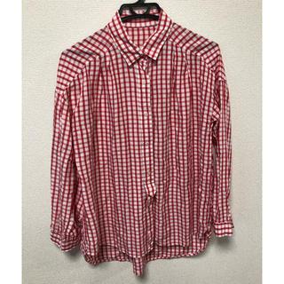 エニィファム(anyFAM)のチェックシャツ レディース(シャツ/ブラウス(長袖/七分))