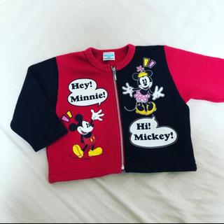ディズニー(Disney)の【ビンテージ古着Baby】ミニーちゃんタンクトップ(タンクトップ/キャミソール)