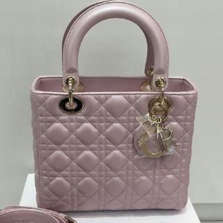 Dior - Dior レディディオール ハンドバッグ カナージュ